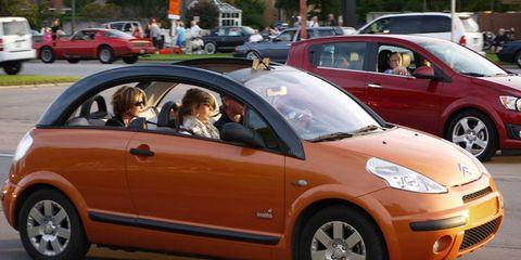 Citroen rocks the 2012 Woodward Dream Cruise.