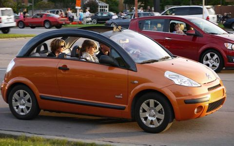 Citroen rocks the 2012 Woodward Dream Cruise.