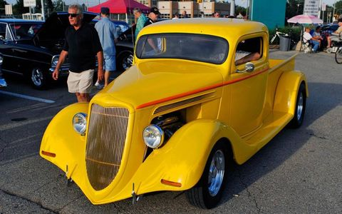 Ford hot rods make a splash at the Woodward Dream Cruise.