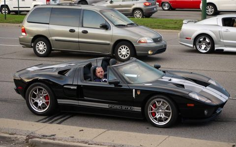 The everyday exotic, a Ford GT at the 2012 Dream Cruise