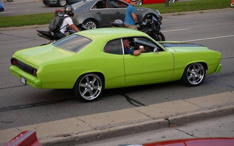 Custom Duster at the 2012 Dream Cruise.