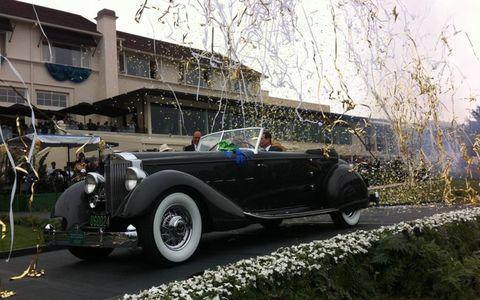 The winning Packard