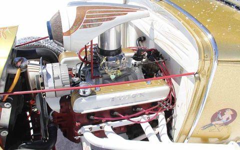 Buick nailhead-powered roadster at Bonneville Speed Week 2013