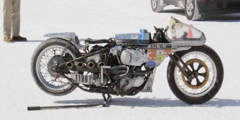 Following the cancellations of the Southern California Timing Association's speed week, the American Motorcycle Association cancels their speed trials at Bonneville.