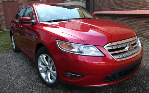 Driver's Log Gallery: 2010 Ford Taurus SEL