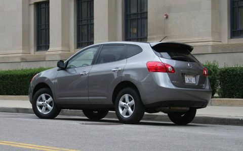 Driver's Log Gallery: 2010 Nissan Rogue S