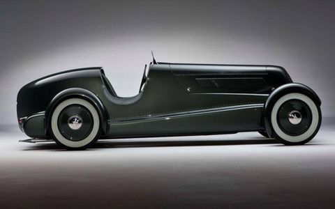 The 1934 Edsel Ford Special Speedster after restoration by RM.