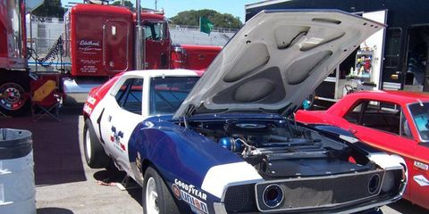 Trans Am cars were also well-represented, including this beautiful AMC Javelin.