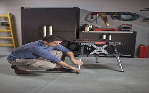 Keter Adjustable Folding Table