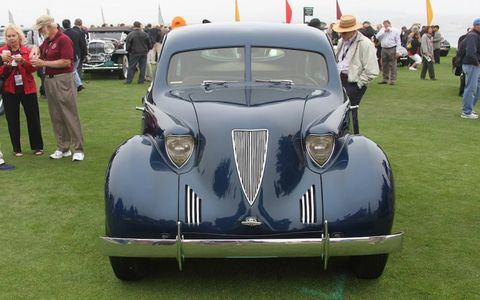 The wondrous Hoffman X-8 did not win the top prize at Pebble Beach, despite being the best car there.