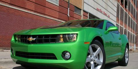 Driver's Log Gallery: 2010 Chevy Camaro 1LT