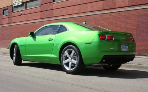 Driver's Log Gallery: 2010 Chevy Camaro 1LT