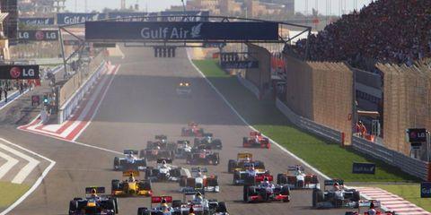 Bahrain International Circuit, Sakhir, Bahrain 14th March 2010 World Copyright: Steve Etherington/LAT Photographic