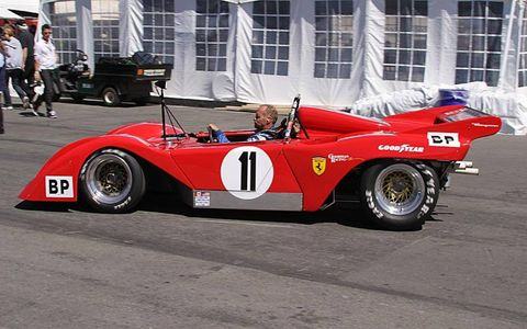 Dan Gurney's iconic race cars again took flight on Saturday at Mazda Raceway Laguna Seca as the legendary driver was saluted as part of the Rolex Monterey Motorsports Reunion.
