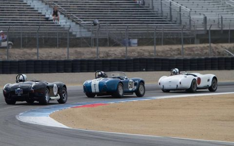 Cobras 'round the bend.