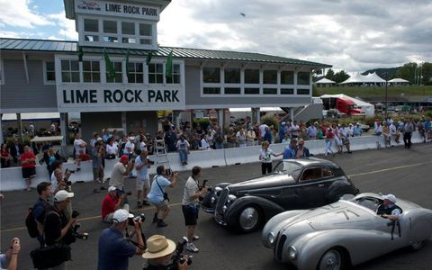 Vintage cars will take to the historic Lime Rock Park for its annual extravaganza over Labor Day weekend.