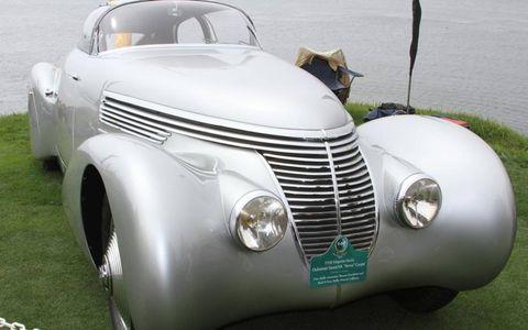 """The 1938 Hispano-Suiza Dubonnet Saoutchick """"Xenia"""" Coupe"""
