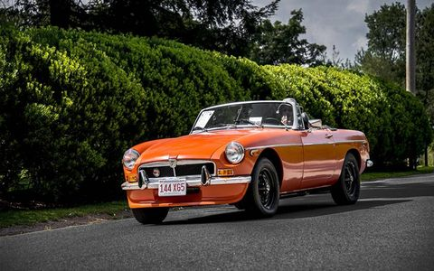 This is perhaps our favorite color for the MGB.