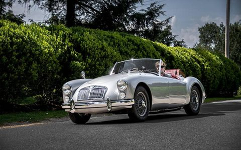 Here's a nice silver example of the MGA.