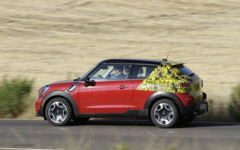 UNDERCOVER TEST DRIVE: MINI PACEMAN