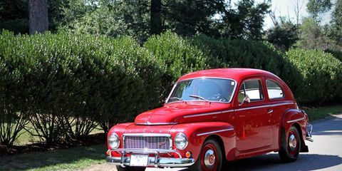 We saw this Volvo PV544 in 2011.