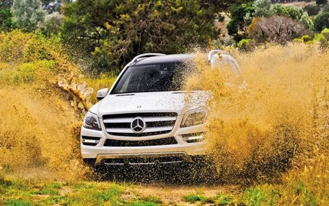 The new GL-class from Mercedes-Benz is a seven-passenger, luxurious, on- and off-roading SUV.