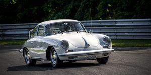 Reutter's factory produced tens of thousands of Porsches until 1963, when Porsche itself took over its factory.