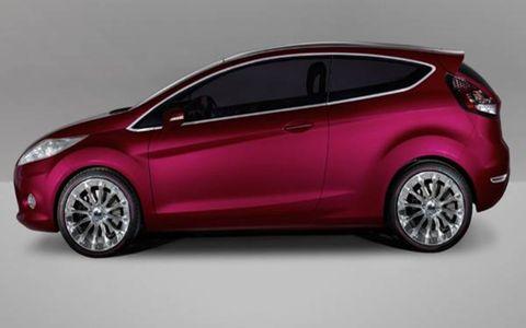 Motor vehicle, Automotive design, Vehicle, Car, Red, Vehicle door, Hatchback, Automotive exterior, Fender, Automotive mirror,