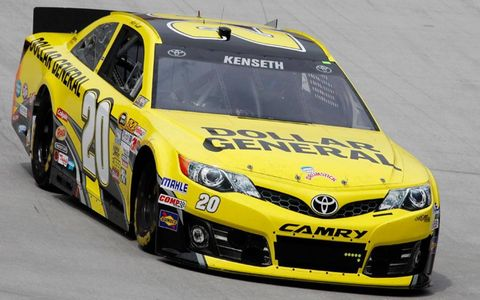 Matt Kenseth is the first NASCAR Sprint Cup Series driver to five wins this season.