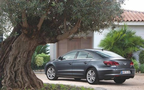 Putting the power to the pavement in the 2013 Volkswagen CC VR6 Executive 4Motion is done by a 3.6-liter V6 mated with a six-speed automatic transmission.