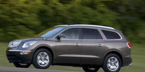 Driver's Log Gallery: 2010 Buick Enclave CXL-2