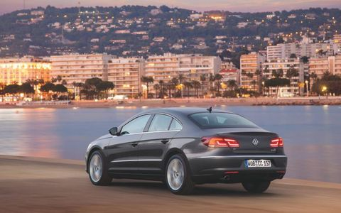 The 2013 Volkswagen CC VR6 Executive 4Motion offers variety in the German sedan lineup.
