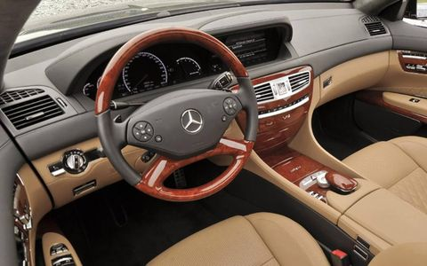 The 2013 Mercedes-Benz CL65 AMG has a base price of $216,205, with our tester topping off at $228,415.