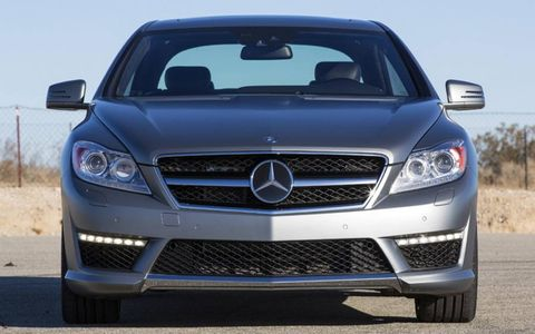 The 2013 Mercedes-Benz CL65 AMG cranks out an impressive 621 hp and 738 lb-ft of torque.