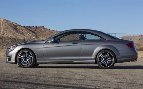 The 2013 Mercedes-Benz CL65 AMG offers a great deal of comfort while navigating surface streets.