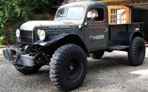 """The seller claims """"almost zero"""" rust on the well-worn but well-maintained truck."""