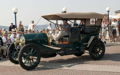 """Not all Astons: this 1911 Simplex took home a first in the """"Antiques"""" class last year.  It also won """"Best of Show."""""""