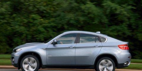 Driver's Log Gallery: 2010 BMW X6 Active Hybrid