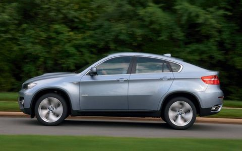 Driver's Log Gallery: 2010 BMW X6 Active Hybrid