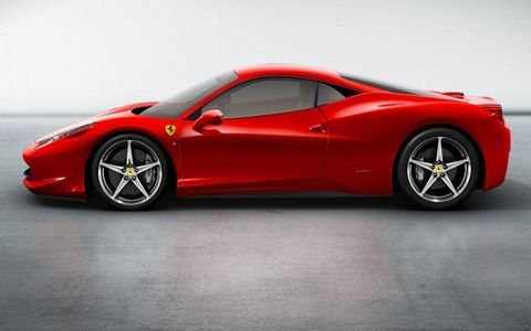 Tire, Wheel, Mode of transport, Automotive design, Vehicle, Transport, Performance car, Red, Supercar, Rim,