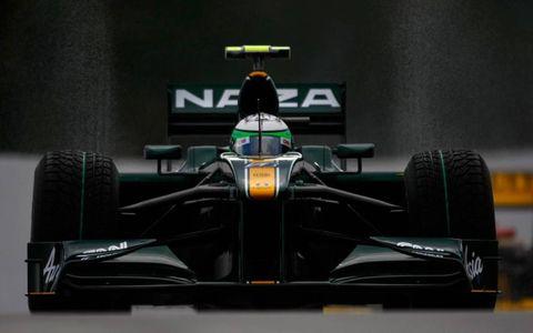 Spa-Francorchamps, Spa, Belgium 27th August 2010 Jarno Trulli, Lotus T127 Cosworth.