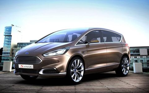Ford has given us a look at its S-Max concept ahead of the 2013 Frankfurt motor show. From the looks of it, it'll fit right in with the likes of the Fiesta, C-Max and Escape.