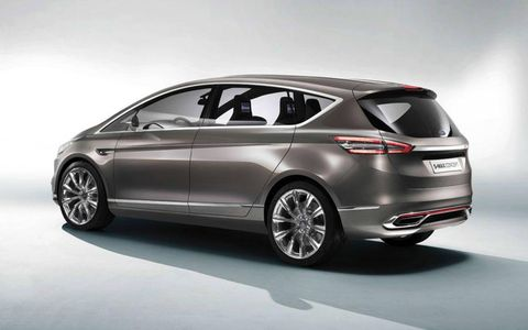 Don't expect to see the S-Max in the States. Its 1.5-liter EcoBoost engine, however, will find its way into the Fusion.
