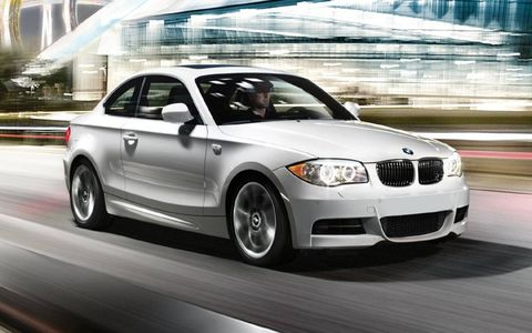 The  2013 BMW 135is coupe produces 320 hp and 317 lb-ft of torque.