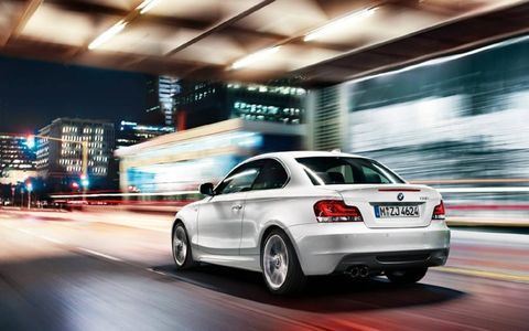 The 2013 BMW 135is coupe is equipped with a 3.0-liter turbocharged inline-six.