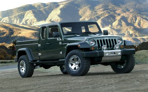 Gladiator (2005): The Wrangler-styled pickup was built on a Ram 1500 frame, but it made Jeep fans drool for the return of a real Jeep body-on-frame pickup.