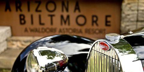 There'l be more than Bugattis at teh Biltmore Jan. 12, 2014.