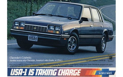 "The ""USA-1 IS TAKING CHARGE"" slogan was a puzzling one, even in 1983."