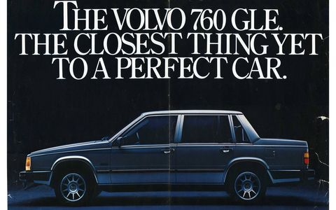 In 1983, you could buy many, many cars that were much further from perfect than the 760 GLE.