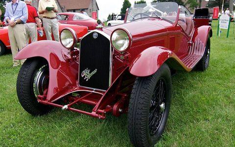 Featured marque winner: 1932 Alfa Romeo 8c 2300.
